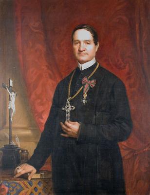 Rimely Mihály pannonhalmi főapát portréja