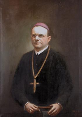 Hajdú Tibor pannonhalmi főapát portréja