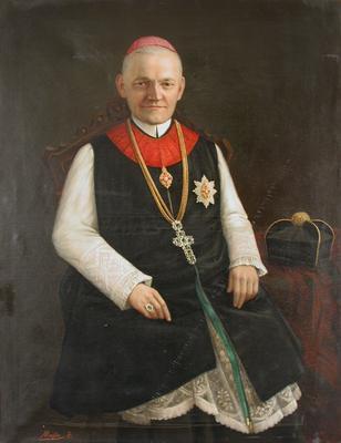 Vaszary Kolos pannonhalmi főapát portréja
