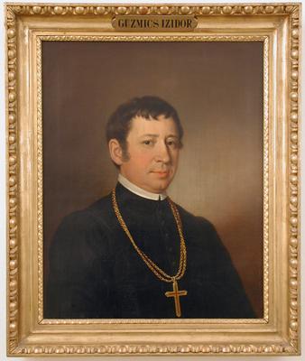 Guzmics Izidor bakonybéli apát portréja