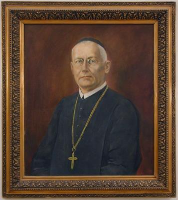 Jándi Bernardin celldömölki apát portréja