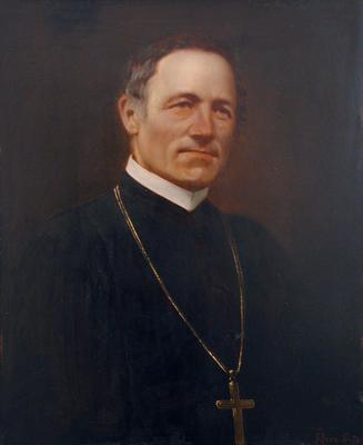 Jahn Mainrád celldömölki apát portréja
