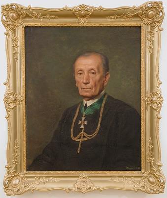 Kroller Miksa zalaapáti apát portréja