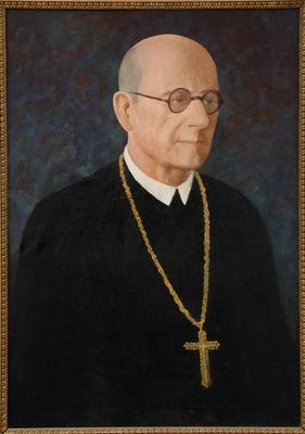 Szekeres Bónis zalaapáti apát portréja