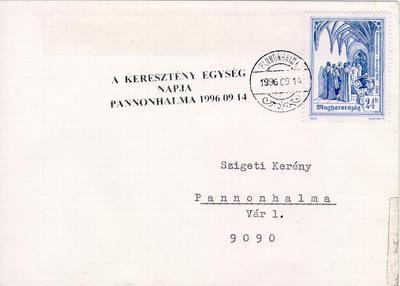 Levél, 1996