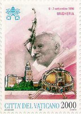 Vatikáni bélyeg, 1996
