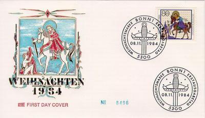 Szent Márton bélyegen