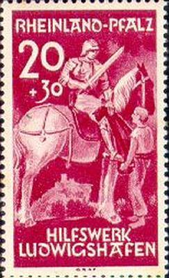 Szent Márton bélyegeken
