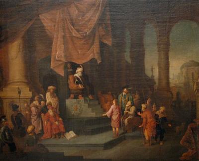 József megfejti a fáraó álmát