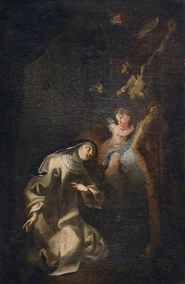 Szent Erzsébet látomása