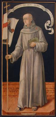 Kapisztrán Szent János képmása