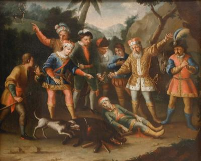 Günther herceg holttestének megtalálása (Kremsmünster alapításának legendája)